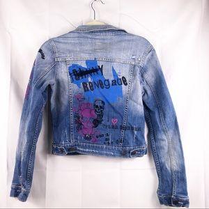 Vigoss collection denim, size medium, jacket